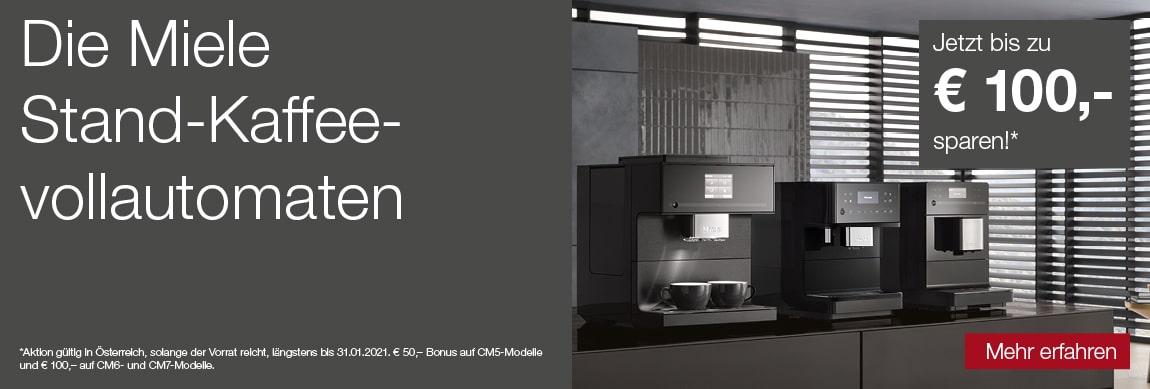 Die Miele Stand-Kaffeevollautomaten